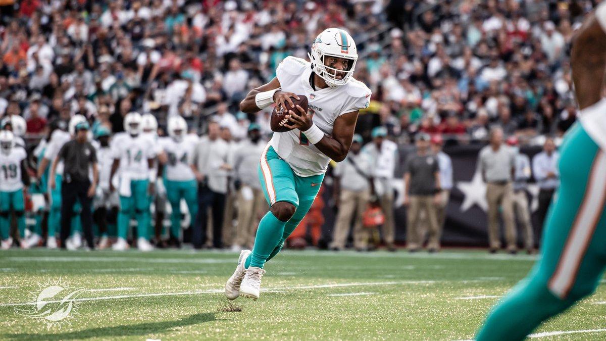 Former Saint Louis standout Tua Tagovailoa and the Miami Dolphins opened the 2021 NFL season...