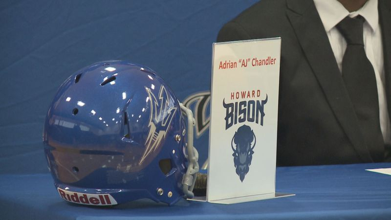 Adrain Chandler of Williston-Elko High School signed to Howard University.