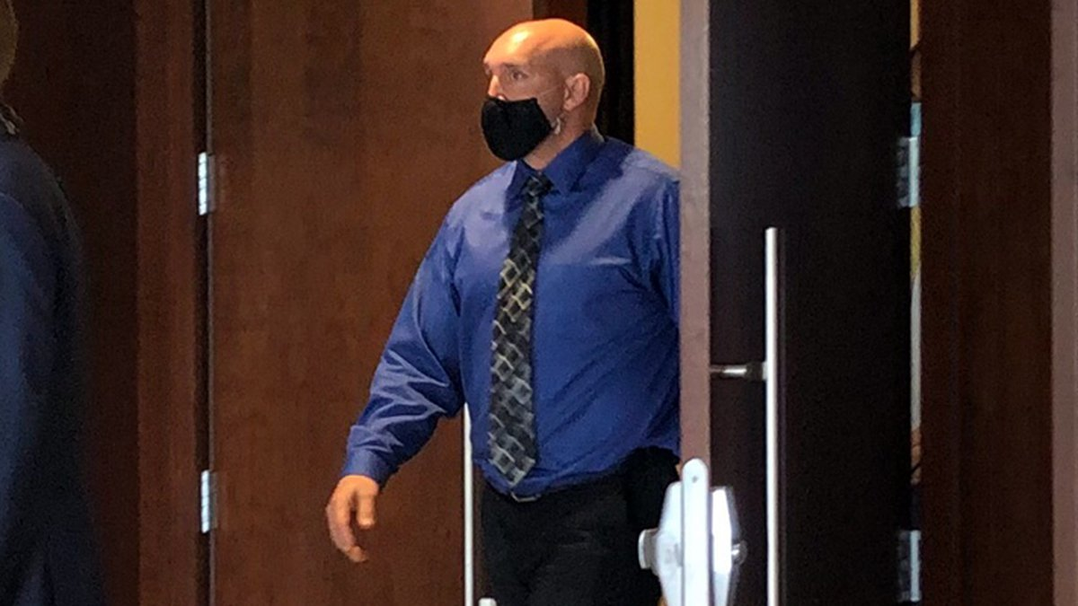 Jonathan Pentland is being charged with third degree assault and battery after the April...