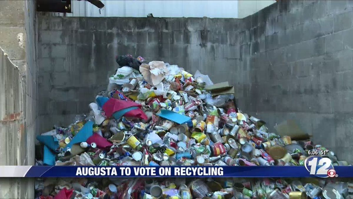 Augusta could be the next town to get rid of a recycling program. (Source: WRDW)