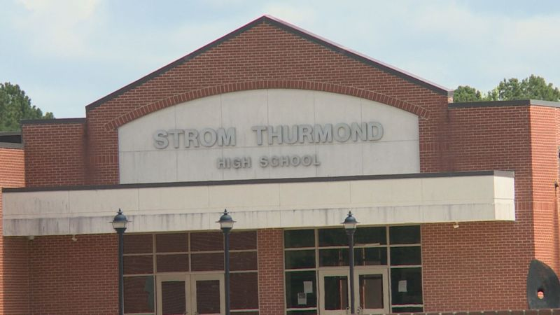 Strom Thurmond High School in Edgefield is just one government building named after the...