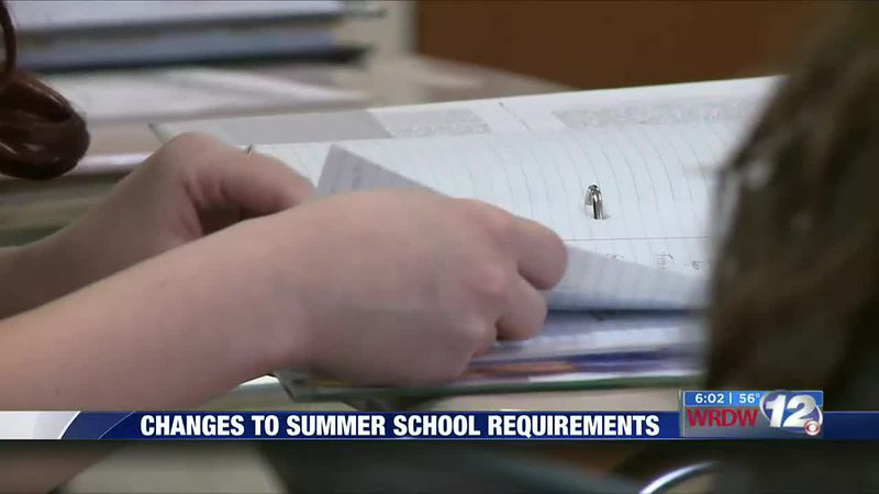 Changes to Aiken summer school requirements