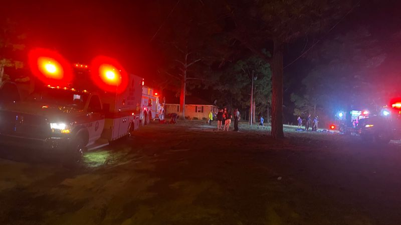 One dog died and a person is being treated for smoke inhalation after a fire on Emerald Drive...