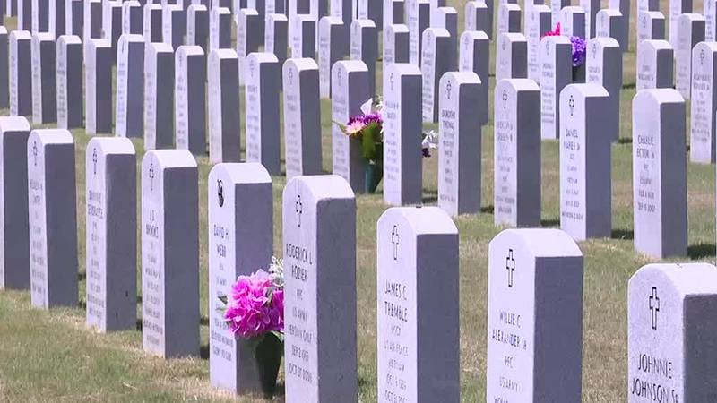 We're seeing the next step in bringing a veteran cemetery to Augusta. Today city leaders and...