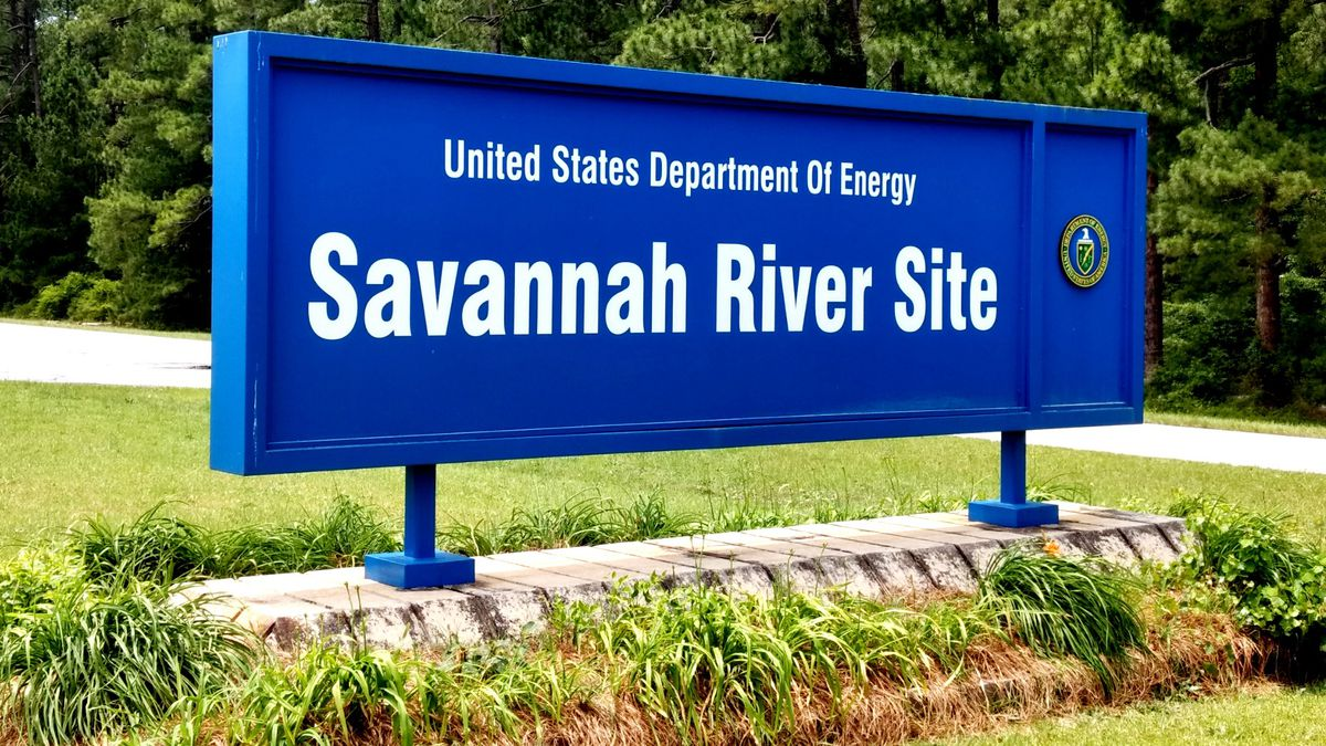 The Savannah River Site covers 198,046 acres, including parts<br />of Aiken, Barnwell and...