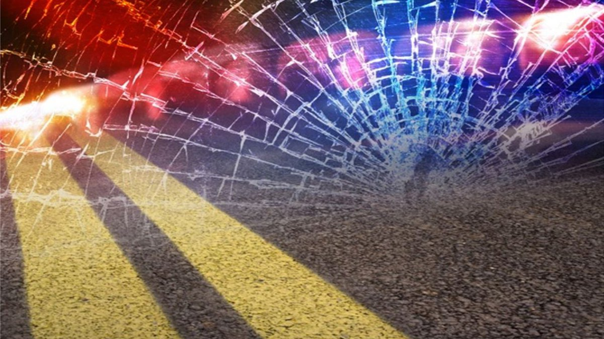 Troopers responded to a car collision that left two people hospitalized.