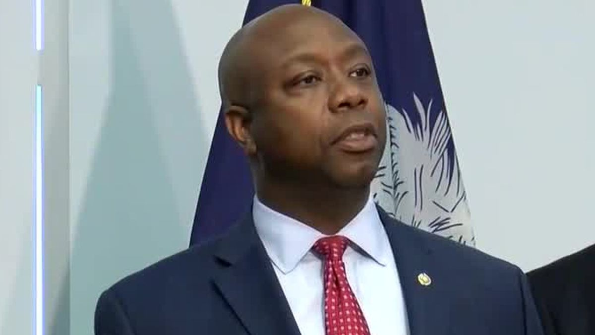 VIDEO: Sen. Tim Scott to present GOP rebuttal to Biden address