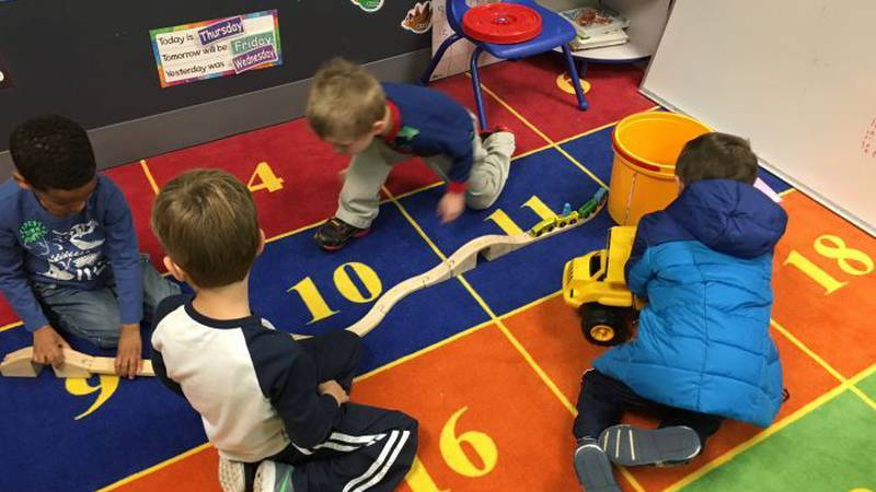In The Zone is a Christian-themed daycare, preschooland after school program. (Photo Source:...