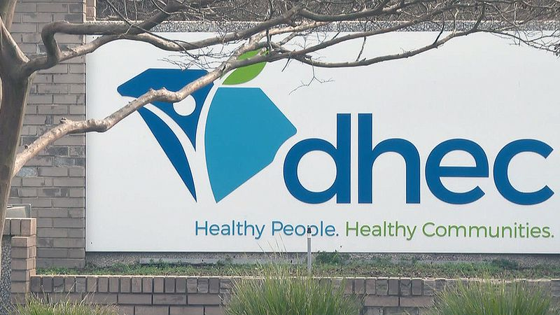 Officials with the South Carolina Department of Health and Environmental Control said beginning...