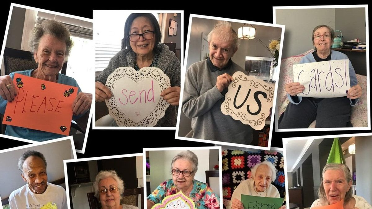 From the east to the west, and the north to the south -- every card is a treat for people living at Madison Heights Evans. (Source: Madison Heights Evans)