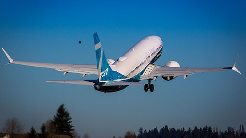 The Boeing plane was grounded globally in March 2019, shortly after a 737 Max crashed in...