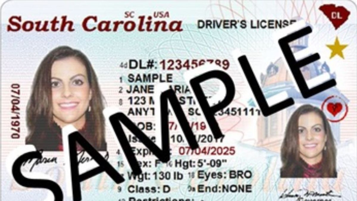 If you haven't gotten one already, some of you might receive a post card from the South Carolina Department of Motor Vehicles about your driver's license. (Source: SC DMV)