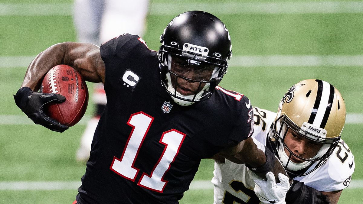 Falcons, Titans agree to terms on Julio Jones trade