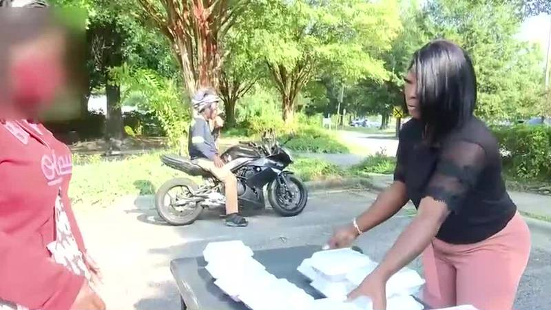 Woman motivated to help Augusta's homeless community