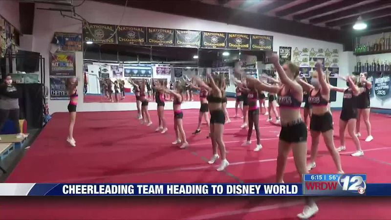 Cheerleading team heading to Disney World