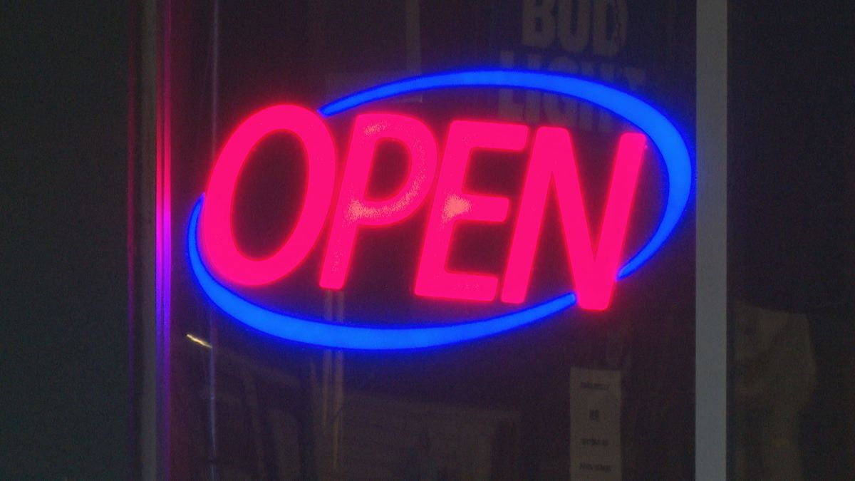 Bars and taverns are able to reopen their doors.