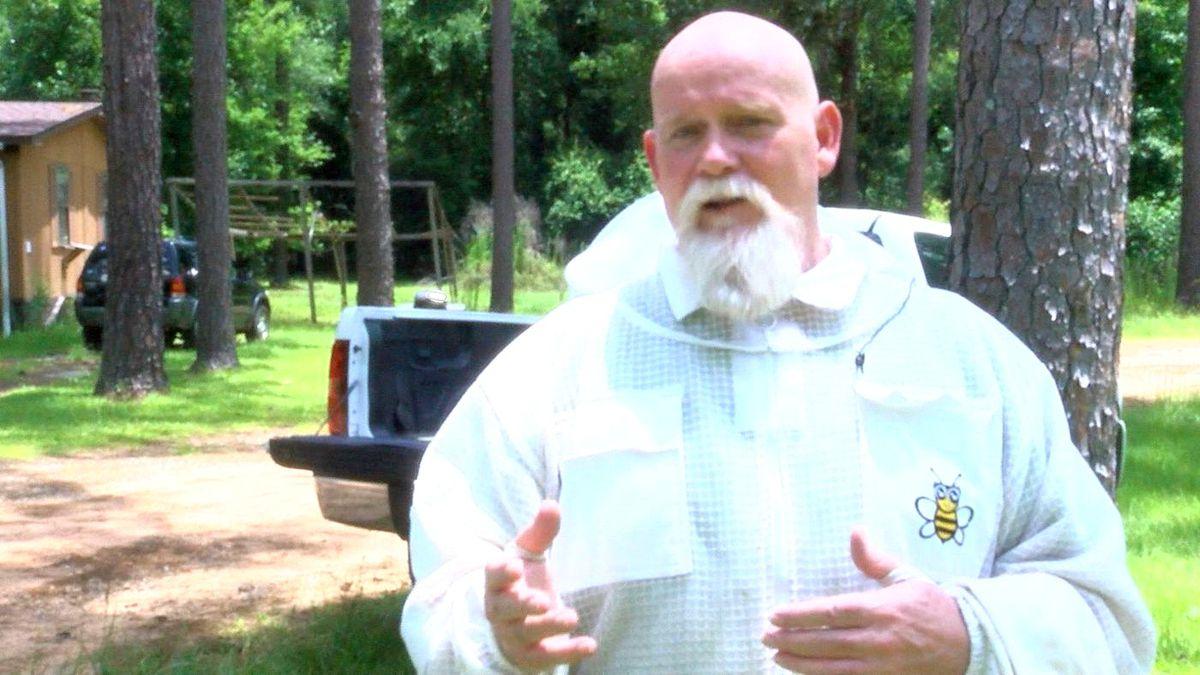 Beekeeper Virgil Brandon (Source: WALB)