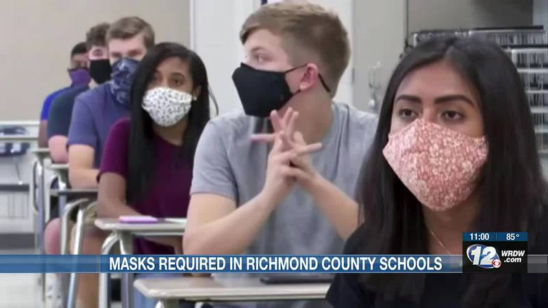 Big news out of Richmond County where we're learning masks will be required for everyone this...