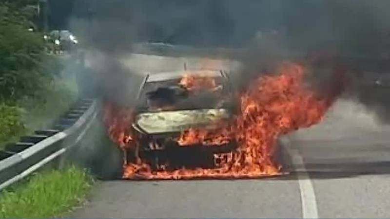 Local hero saves a woman and daughter from burning car: 'I couldn't be more grateful'