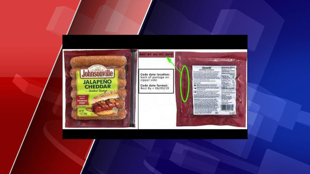 """About 95,000 pounds of Johnsonville's ready-to-eat jalapeno cheddar smoked sausages are being recalled due to the potential presence of """"extraneous material,"""" according to the U.S. Department of Agriculture's Food Safety and Inspection Service (FSIS)."""
