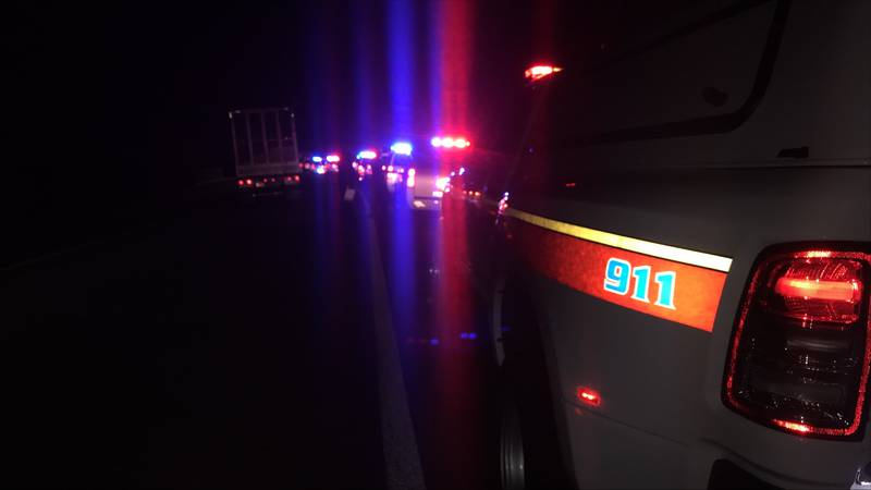 North Augusta Department of Public Safety responded to an accident on I-20.