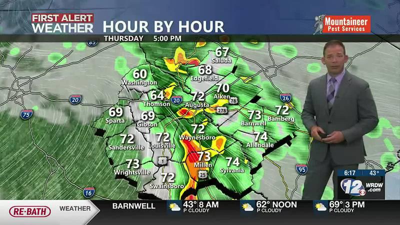Rain Thursday