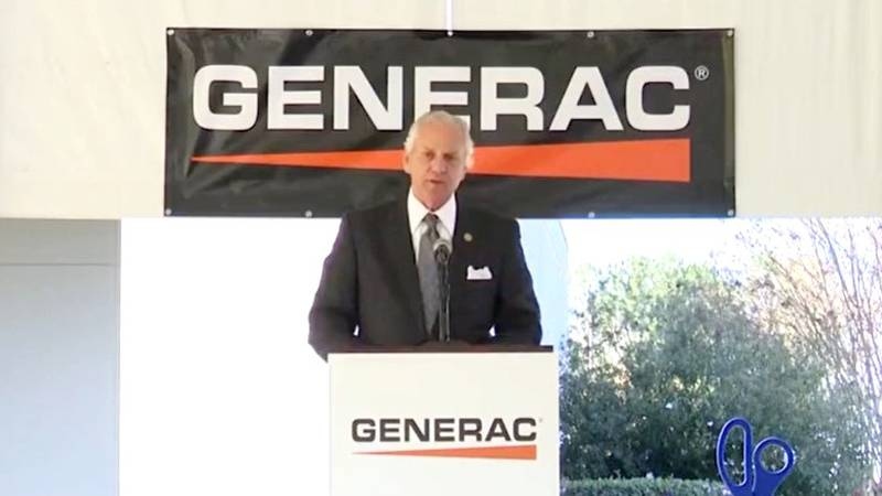 South Carolina Gov. Henry McMaster speaks on Oct. 21, 2021, during the grand opening of the...
