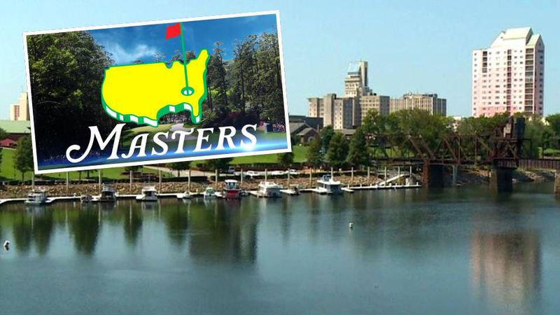 The annual Masters golf tournament is the keystone of Augusta's economy.