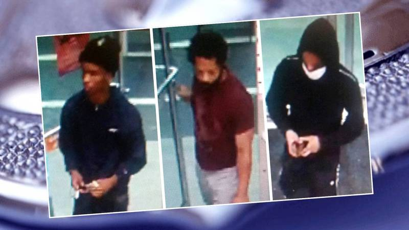 These men are being sought in connection with thefts from vehicles in the Crawford Creek...