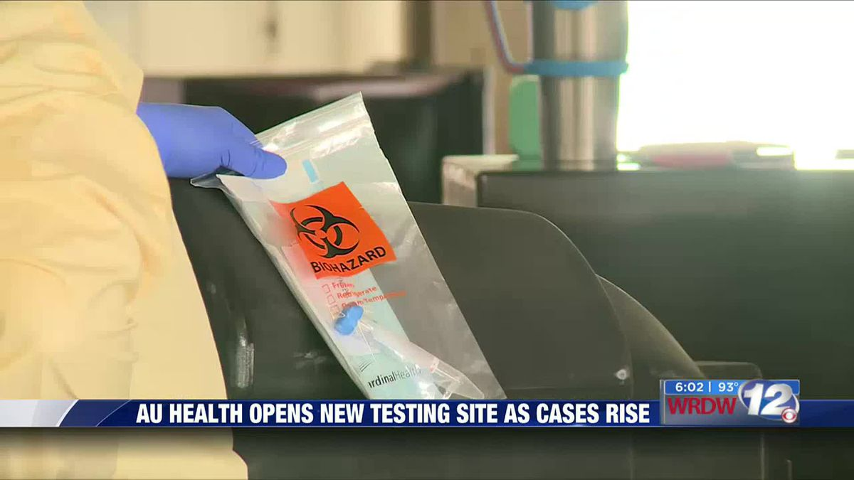 AU Health opens new testing site as cases rise