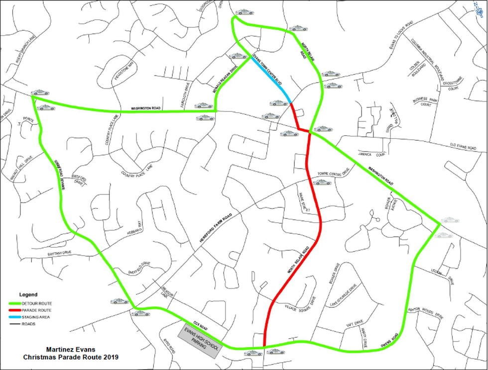 Columbia County Christmas Parade Route 2020 Road closures to look out for during Columbia County Christmas parade