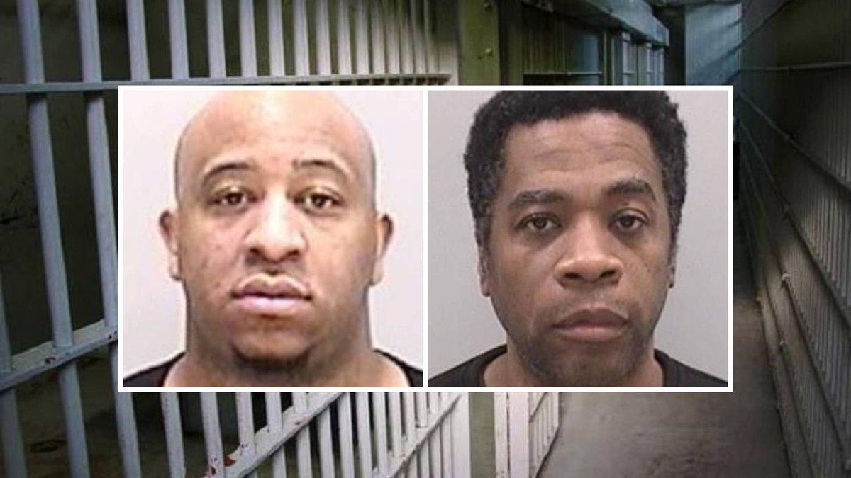 From left: Aaron Barnes-Burpo and Walker Washington