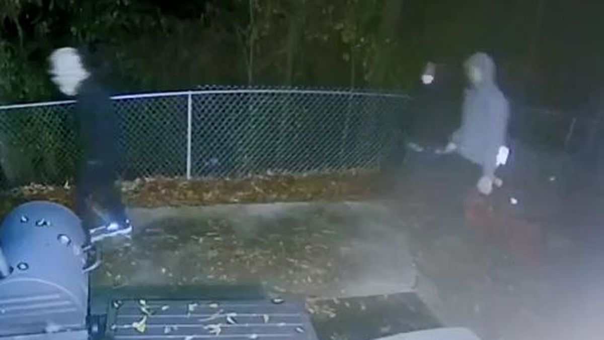 Three suspects were caught on camera in a shooting that killed a mother and young child. (Source: Aiken County Sheriff's Office)