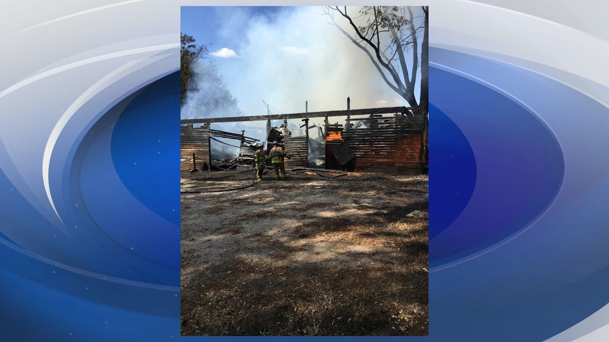 Officials say the fire is now out (Source: WRDW)