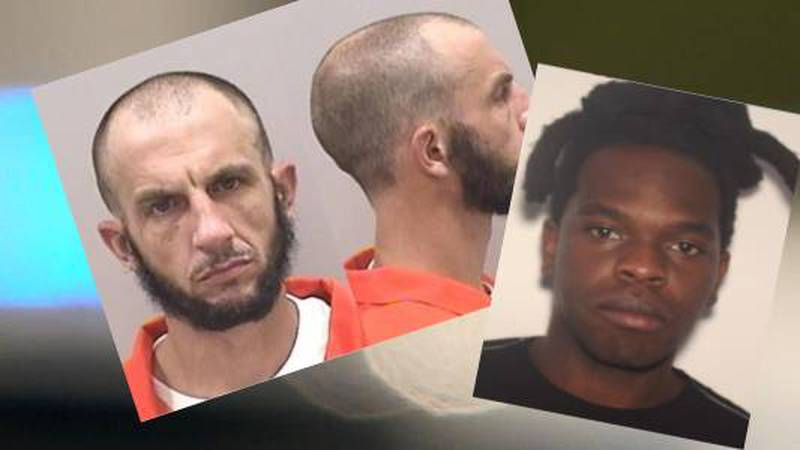 Ryan Dixon and Marquese Holmes are wanted for unrelated crimes.