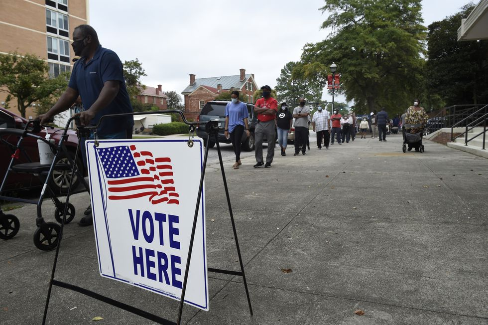 It's the last day for in-person early voting in Georgia