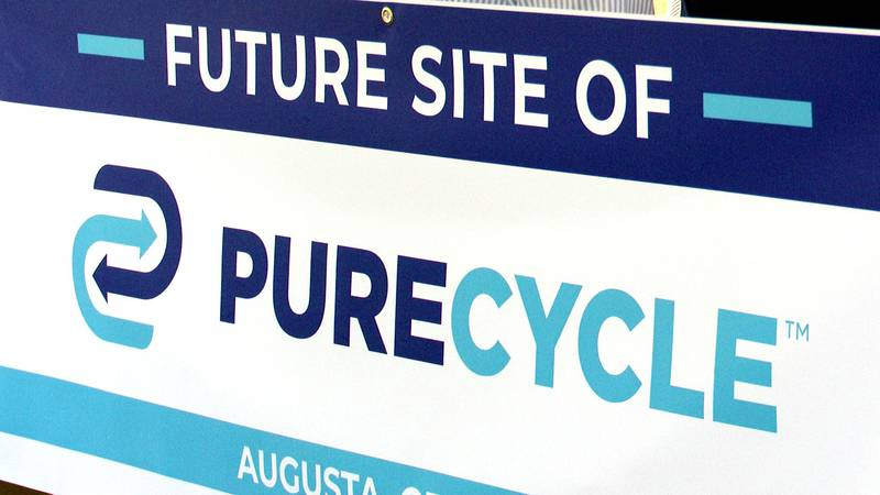 PureCycle is building a new plant in south Augusta.
