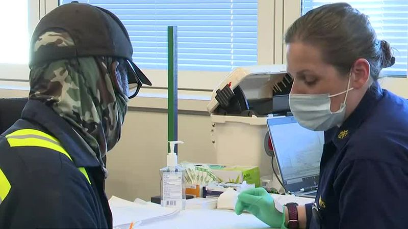 See how the Augusta VA vaccinates 10,000 veterans