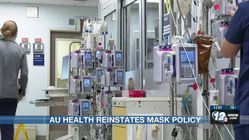 AU Health reinstates mask policy to prevent another COVID surge