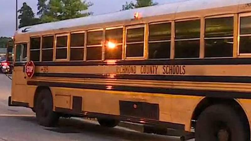 Richmond County school bus