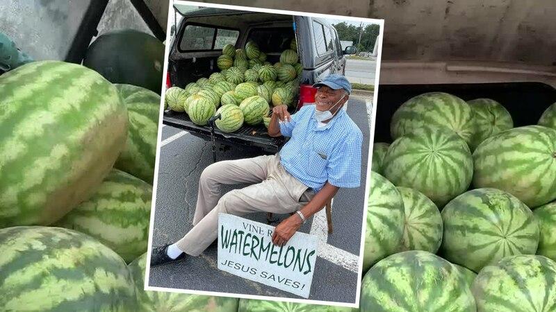Charles Lane, the Augusta watermelon man.