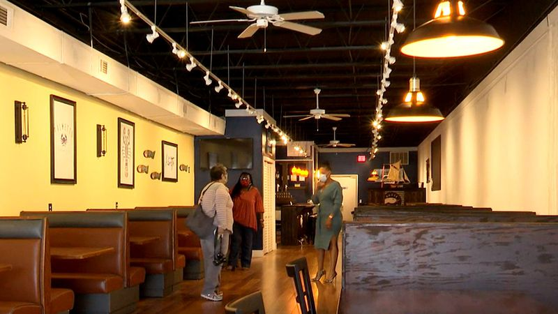 Palmetto Seafood is a new restaurant in downtown Aiken.