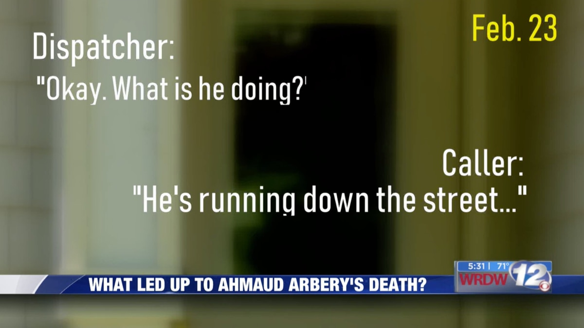 Jogging while black -- it's how people describe the case of Ahmaud Arbery. (Source: WRDW)