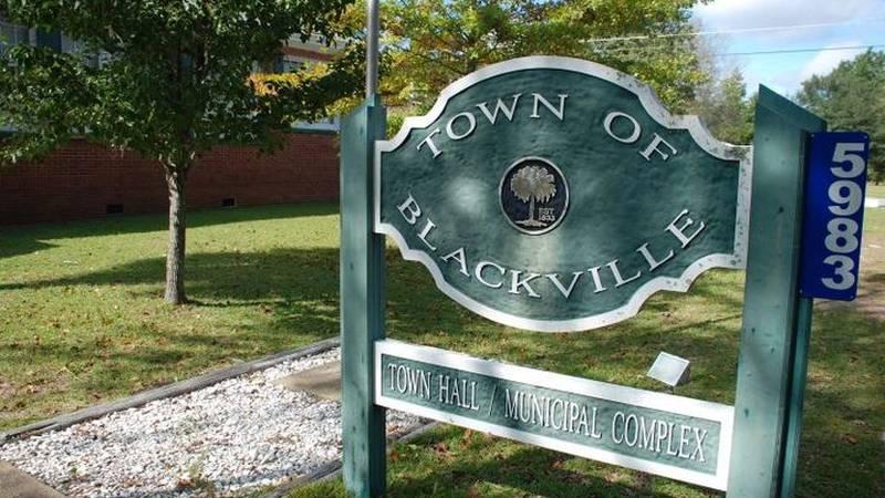 Town of Blackville, South Carolina.