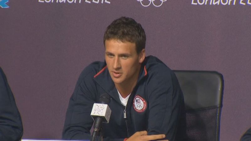 Lochte has earned a dozen Olympic medals in swimming, including six gold medals