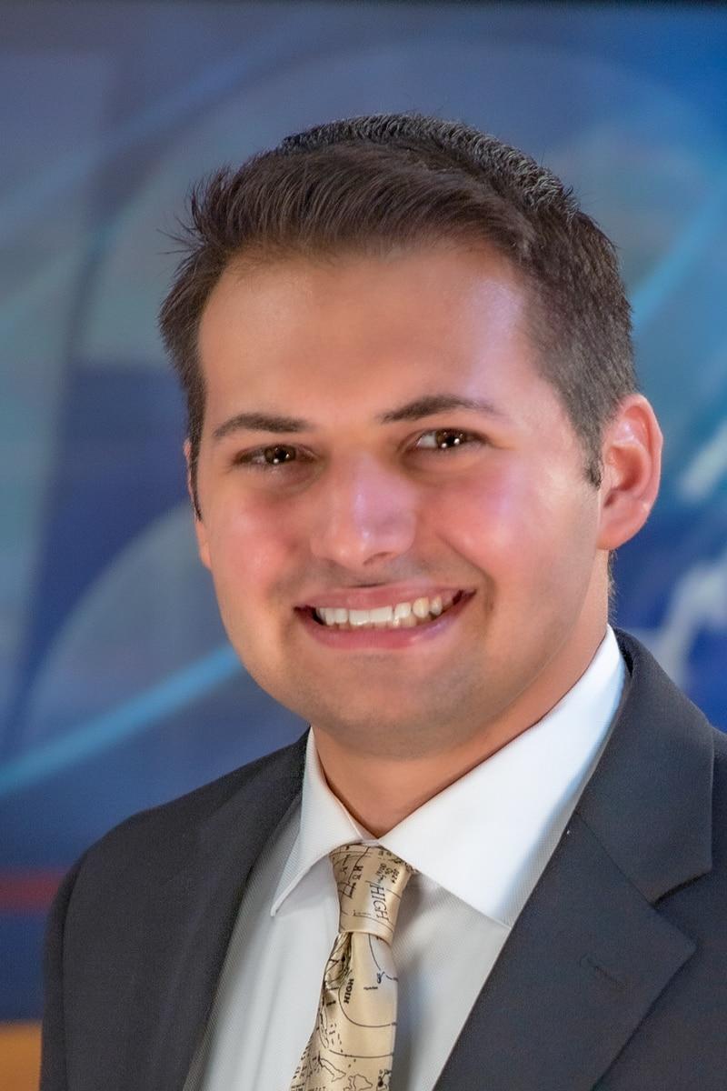 Headshot of Anthony Carpino, Weekend Meteorologist