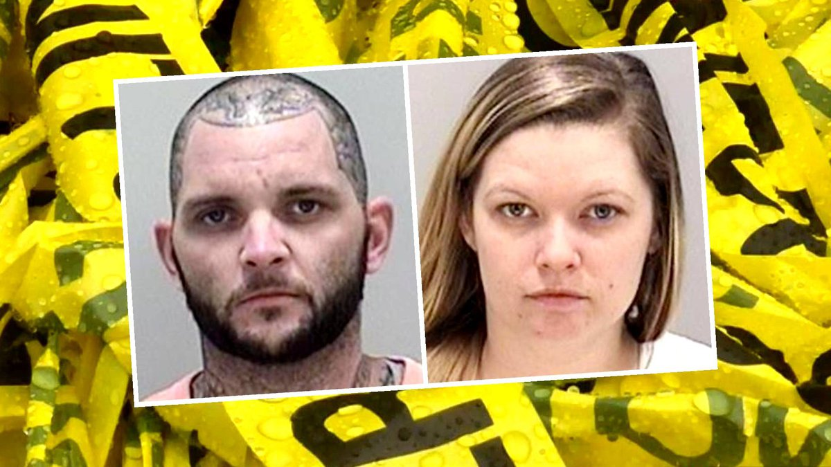 From left: Joshua David Chosewood and Heather Marie Strickland