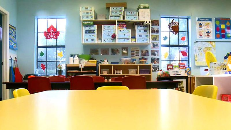 More chairs are empty now at local child care centers.