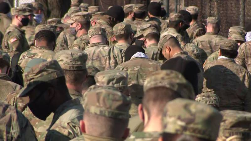The military's resistance comes as troops are deploying to administer shots at vaccination...