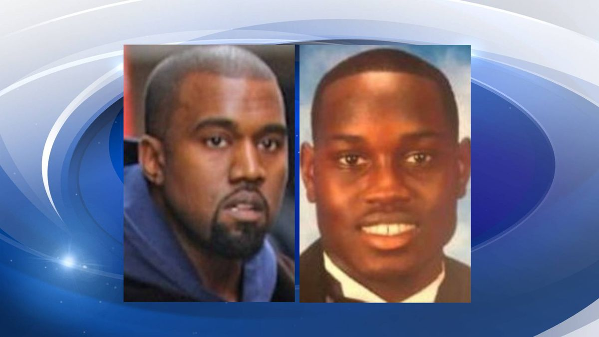 From left: Kanye West and Ahmaud Arbery